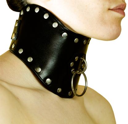posture bondage collar