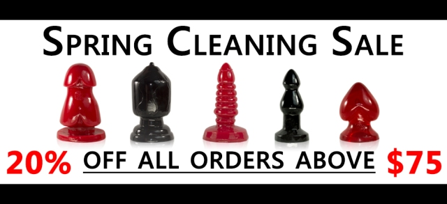 masturgasm spring cleaning sale