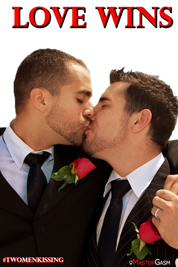 Fight Back with Love #TwoMenKissing